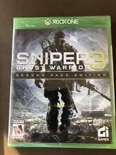 Sniper: Ghost Warrior 3 Season Pass Edition (Microsoft Xbox One, 2017) *NEW*