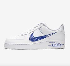 Nike Air Force 1 LV8 Utility Scribble Sketch Pack White / Blue Sizes UK 6-12