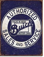 Buick Authorized Sales And Service metal sign 400mm x 305mm (de)