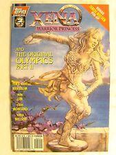 Xena Warrior Princess And The Original Olympics No 2 Terese Nielsen Pin Up Comic