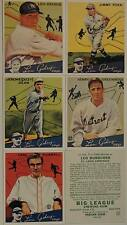 1934 Goudey Reprint Baseball Card Set Gehrig Dean