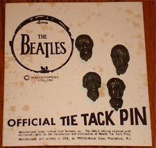 BEATLES OFFICIAL TIE TAC PENS  Nems Ent. 1964