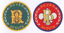 SCOUTS OF FIJI ISLAND - BADEN POWELL (BP AWARD) Highest Rank Top Award Patch SET