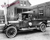 Photograph Vintage City Gas Utility Truck 1925c   8x10
