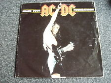 AC/DC-Shake your Foundations 7 PS-Postersleeve Cover-Made in UK