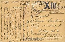 Camp Oflag IIIC Lübben 1940 POW Prisoner of War Kriegsgefangenenpost (K3a)