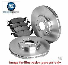 FOR ISUZU BIGHORN IMPORT 2.8DT 1987-1991 NEW FRONT BRAKE DISCS + DISC PADS SET