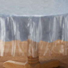 Translucent Plastic Table Cover - Round
