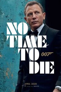 """No Time To Die - Movie Poster (James Bond 007 - Teaser) (Size: 24"""" X 36"""")"""