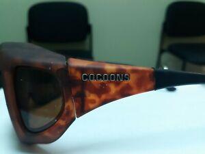 Cocoons Slim Line Sunglasses C207A M Tortoise Flex2Fit USA Over RX Glasses