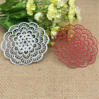 Flower Doily Metal Cutting Dies Stencil Scrapbooking Card Paper Embossing Craft