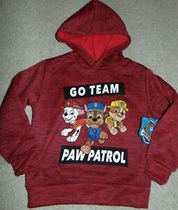 ~NWT Boys PAW PATROL Long Sleeve Hoodie! Size 4 Super Cute!!:)*
