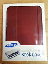 """New Samsung Galaxy Note 10.1""""  Book Case Cover Maroon Burgundy new"""