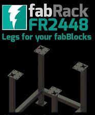 """CertiFlat FR2448 24""""X48"""" FabRack CNC Laser Tube Leg Kit for FabBlocks Heavy-Duty"""