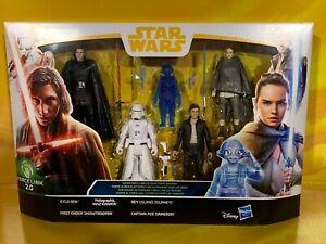Star Wars - Force Link Last Jedi 5 Pack - Kylo, Rey, Maz, Snowtrooper, Poe