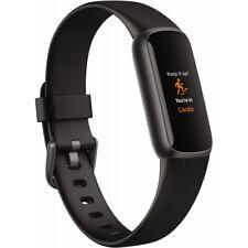 Fitbit Luxe Aktivitäts-Tracker - Schwarz/Edelstahl Graphit