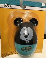 Disney Mickey Mouse Swimways Pool Floating Egg Shaped Water Toy Bath Wobblies