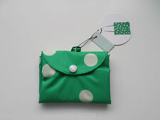 RADLEY - POLKA DOG - GREEN FOLDAWAY TOTE SHOPPER BAG - RADLEY DOGS - RRP £16