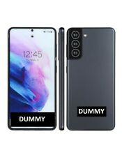 TELEFONO FINTO DUMMY SCHERMO COLORATO REPLICA Samsung Galaxy S21 5G GRIGIO