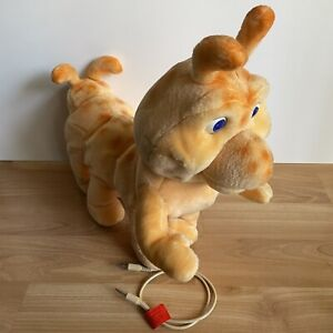 1985 Teddy Ruxpin GRUBBY Giant Talking Toy Worlds of Wonder Octopede w Cable