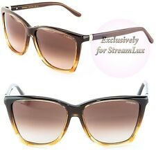 YVES SAINT LAURENT Cat Eye Brown Gradient Sunglasses YSL 6347S E49JD