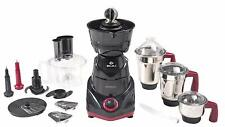 Food Processor Bajaj 750 W Mixer Grinder 3 Jar Bowl, With CA universal Plug