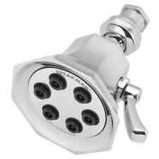 Shower Head,Brass,Polished Chrome,2.5gpm S-2255