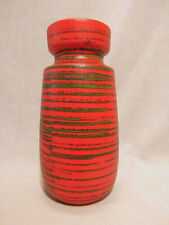 Scheurich 242-22 Vase Ceramics West German Pottery Design 70s 70er #5