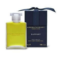 1PC Aromatherapy Associates Support Equilibrium Bath Shower Oil 55ml Body Care
