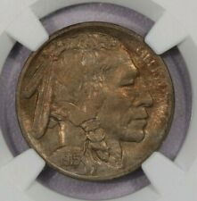 1915-S 1915 Buffalo Nickel NGC MS62 sweet original coin!