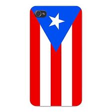 Puerto Rico World Country National Flag FITS iPhone 4 4s Snap On Case Cover New