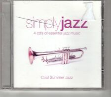 (HO635) Simply Jazz, Cool Summer Jazz, 12 tracks various artists- 2004 CD 1 only
