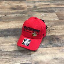 NEW Chicago Blackhawks Baseball Dad Hat Hockey Strapback Authentic Pro Men Adult