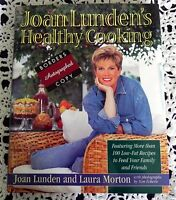 JOAN LUNDEN'S HEALTHY COOKING by JOAN LUNDEN SIGNED STATED 1ST EDITION 1ST PTG