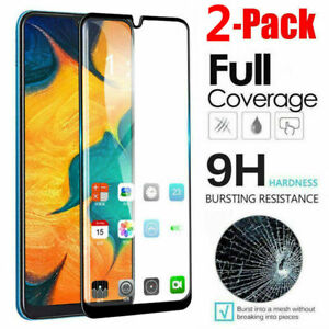 For Samsung A10s 20E A30s A40 A50s A70Full Cover Tempered Glass Screen Protector