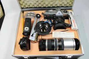 Spiegelreflex Kamera Cosina Hi-Lite im Koffer mit viel Zubehör (S1536)