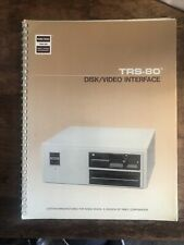 TRS-80 Disk/Video Interface Owner's Manual