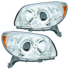 Front Headlights Pair Set for 06-09 Toyota 4Runner Limited/SR5 Left & Right