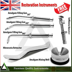 Dental Restoration Tooth Cavity Filling Instruments Oral Surgical Re-tractors