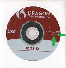 Nuance Dragon NaturallySpeaking Home 12 - Open Box