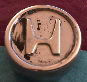 "VINTAGE HONDA CIVIC CRX CENTER HUB CAP Hubcap Cover Metal 1980 1981 1982 2 1/8"""