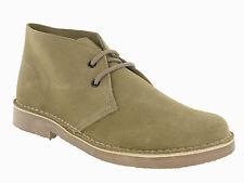 Roamers Desert 2 Eye Wildleder Leder Herren Unisex Classic Schnür Boots UK4-12