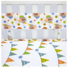 Dumbo Secure-Me Crib Liner by Disney Baby