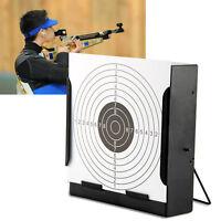 vidaXL Porte cible récepteur de plombs 100 cibles en papier 14 cm Jeu de tir