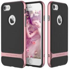 For Apple iPhone XS/X/8/7 Plus Slim Shockproof Hybrid Hard Bumper Rubber Case