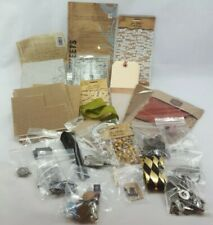Large Lot Tim Holtz Products and Various Crafting Supplies 4 pound Bundle (N3)