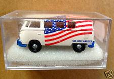 Brekina 3155 1:87 HO scale 1960's Volkswagen Kombi '500 Jahre Amerika'