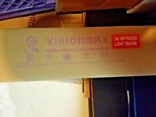 Visionmax Digital Projector Screen L76 NIB NEW MSRP $1599