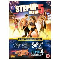 Step Up 5 Film 1 A Collection Nuovo DVD Region 2