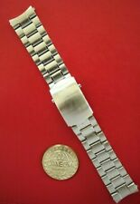 OMEGA 20MM SPEEDMASTER SOLID LINK STAINLESS WATCH BAND WATCHBAND BRACELET STRAP